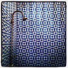 Turkish style tiles for the bathroom or the kitchen splashback.
