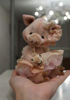 Piglet By Victoria Makarova - Bear Pile
