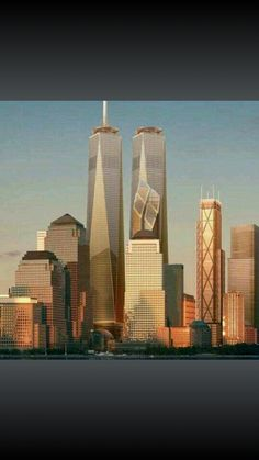 The New Soon to be twin towers of tomorrow