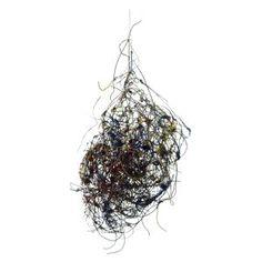 """Alan Saret (American, b.1944), """"Infinity Cluster"""", metal wire sculpture, circa 1980 #contemporary #sculpture #AlanSaret"""
