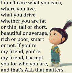 Never judge