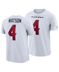 67428b80c89 Nike Men's DeShaun Watson Houston Texans Pride Name and Number Wordmark  T-Shirt - White S