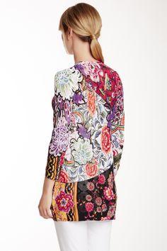 Alberto Makali Floral Knit Cardigan by Alberto Makali on @HauteLook