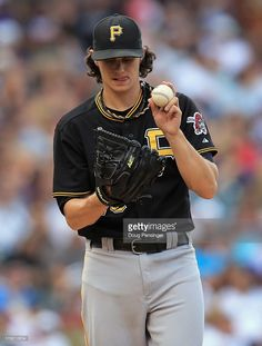 Starting pitcher Jeff Locke #49 of the Pittsburgh Pirates works against the Colorado Rockies at Coors Field on August 11, 2013 in Denver, Colorado. The Rockies defeated the Pirates 3-2 and swept the three game series.