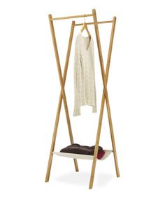 Look what I found on #zulily! Folding Bamboo Laundry Rack by Whitmor #zulilyfinds