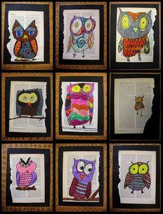 fourth grade owls