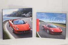 LOT OF 2 UK ITALY FERARRI 458 SPIDER ITALIA HARDBACK BROCHURES BOOKS 2012-2015