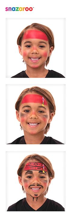Captain Jack Sparrow face paint tutorial | Snazaroo have teamed up with Disney to show you how to paint your face like Captain Jack Sparrow!