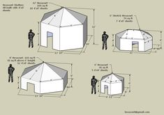 Insulated Wall Tents. See more. Hexayurt plans...this would be fun to do in the backyard as a & Insulated Wall Tents | garage doors | Pinterest | Wall tent Tents ...
