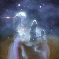 Pillars of Creation in the Eagle Nebula Canvas Art - Corey FordStocktrek Images (29 x 29)