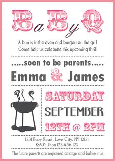 CoolNew Create Baby Shower Bbq Invitations Free Ideas Check more at http://www.nataliesinvitation.com/7205/create-baby-shower-bbq-invitations-free-ideas/