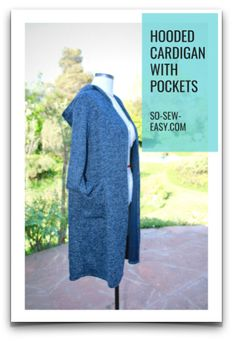 I don't know about you, but I love sewing for Easter. Here's not one bunny sewing pattern, but 20 free sewing patterns with a bunny to inspire … Sewing Hacks, Sewing Tutorials, Sewing Tips, Sewing Ideas, Sewing Crafts, Learn To Sew, How To Make, Leftover Fabric, Hooded Cardigan