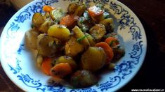 Podzimní brambory s česnekovou majonézou (Co nového na kopci)
