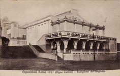 Hungary pavilion 1911 Rome