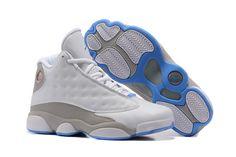 1e5233b6581 Women Jordan Shoes -jordan shoes for women Women Air Jordan 13 White Grey   Women Air Jordan 13 - August 2013 new arrivals.