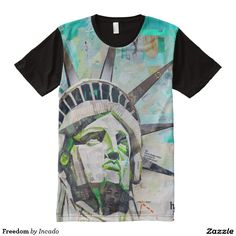 Freedom All-Over Print T-shirt. Regalos Padres, fathers gifts, #DiaDelPadre #FathersDay