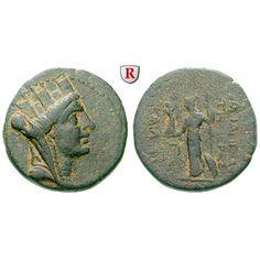 Römische Provinzialprägungen, Seleukis und Pieria, Apameia am Orontes, Autonome Prägungen, Bronze Jahr 283 = 30/29 v.Chr., ss/f.ss:… #coins