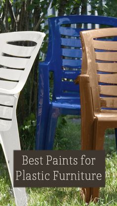 Best Paints For Plastic Furniture - Painted Furniture Ideas - There are quite a few different kinds of plastic paints on the market. They vary in quality. Here are some of the best plastic paints Ive found: Vie. Furniture Projects, Furniture Makeover, Diy Furniture, Outdoor Furniture, Barbie Furniture, Affordable Furniture, Furniture Storage, Furniture Plans, Antique Furniture