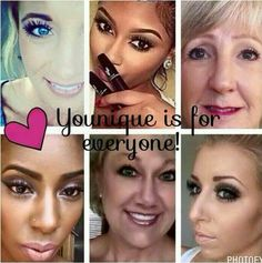 Younique is designed to enhance the beauty of all skin tones. Our products are 100% natural and safe.  www.lashesbyregina.com