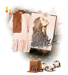 """simple lines of Chloe"" by yourstyle045 ❤ liked on Polyvore featuring See by Chloé, Chloé, David Aubrey and Gorjana"