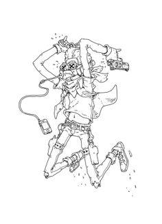 Cranky Oldman by Bee Mifun ✤ || CHARACTER DESIGN REFERENCES | キャラクターデザイン | çizgi…