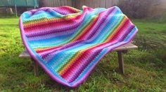 Attic24 Granny Stripe Blanket, Crochet, Crochet Hooks, Blankets, Crocheting, Carpet, Thread Crochet, Hooks, Quilting