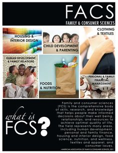 What is Family & Consumer Sciences?  Here is a great poster!  Spread the word!