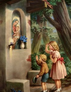 Since a small child we have made a shrine in the month of a May for Our Blessed Mother Mary.I offer up one rosary each day for those in need. Thank you Mother Mary and for Eric.our son!