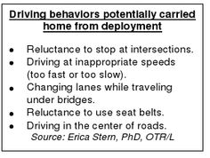 'Returning Troops Find New Dangers on Civilian Roadways' - Report from USAA.  Very Interesting