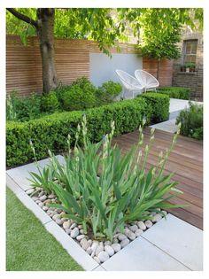 Modern Backyard, Backyard Patio Designs, Small Backyard Landscaping, Modern Landscaping, Garden Modern, Backyard Ideas, Landscaping Ideas, Backyard Pools, Backyard Plants
