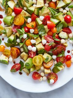 Recipe: Avocado Caprese Salad | Kitchn