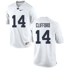 Men  14 Sean Clifford Penn State Nittany Lions College Football Jerseys  Sale-White b2ba67608