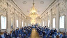 Eventfotografie zum Staatsempfang in der Residenz München zum 25-jährigen Jubiläum Bayika-Bau