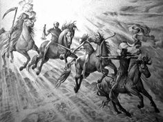 Auguste Dore - The Four Horsemen of the Apocalypse