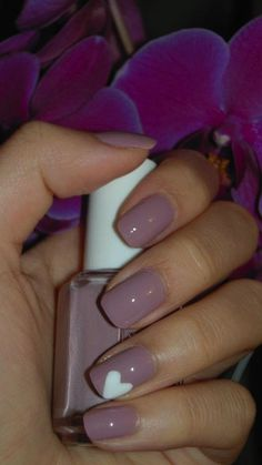 Essie Lady Like + Wet N' Wild French White Creme