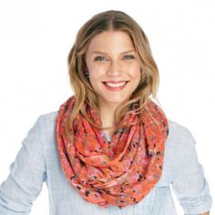 Sole Society Dot Print Infinity Scarf | Sole Society Shoes, Bags and Accessories