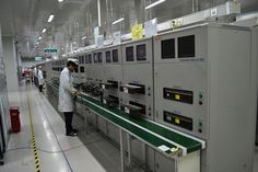 A glimpse of motherboard testing facility at Gionee Industrial Park #GioneeFacilityVisit- http://gionee.co.in/manufacturing/
