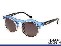 Cool. Carven X Colette Limited Edition black-and-blue acetate sunglasses. colette.fr