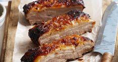 Pork Belly with Orange Marmalade Glaze