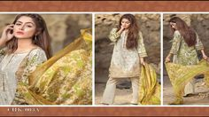 LATEST MASHAAL EMBROIDERED COLLECTION 2017 BY LALA TEXTILE