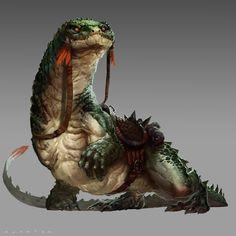 https://www.artstation.com/artwork/giant-riding-gecko