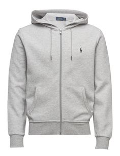 Polo Ralph Lauren Double-knit Full-zip Hoodie (Spring Heather) for 139 33478a2e18c