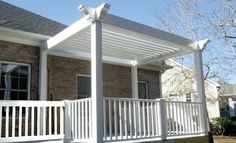 Premier Pergola Vinyl Pergola, Pergola Canopy, Deck With Pergola, Outdoor Spaces, Outdoor Decor, The New Wave, This Is Us, Outdoor Structures