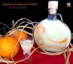 Liquore di arancia al latte