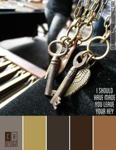 I Should Have Made You Leave Your Key   Color Blocks Design 10.5.12