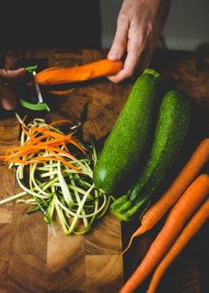 The Vegetable Butcher's Favorite Tool for Ribbons and Noodles — The Vegetable Butcher