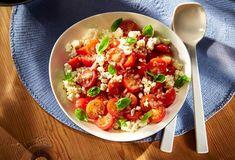 Tomatensalat mit Schafkäse » Einfach Lecker » Rezeptideen für jeden Tag » Rezeptideen für jeden Tag