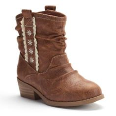 Jumping+Beans+Toddler+Girls'+Western+Slouch+Ankle+Boots $21.99 Kohls