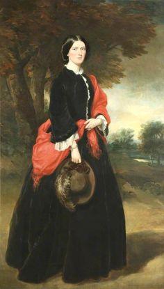 Georgiana Naylor, ca. 1857   In the Swan's Shadow