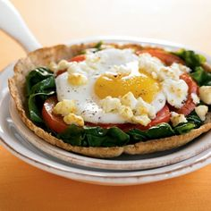 Greet-the-Sun-Breakfast Pizzas - South Beach Diet Recipes combating-insulin-resistance-syndrome